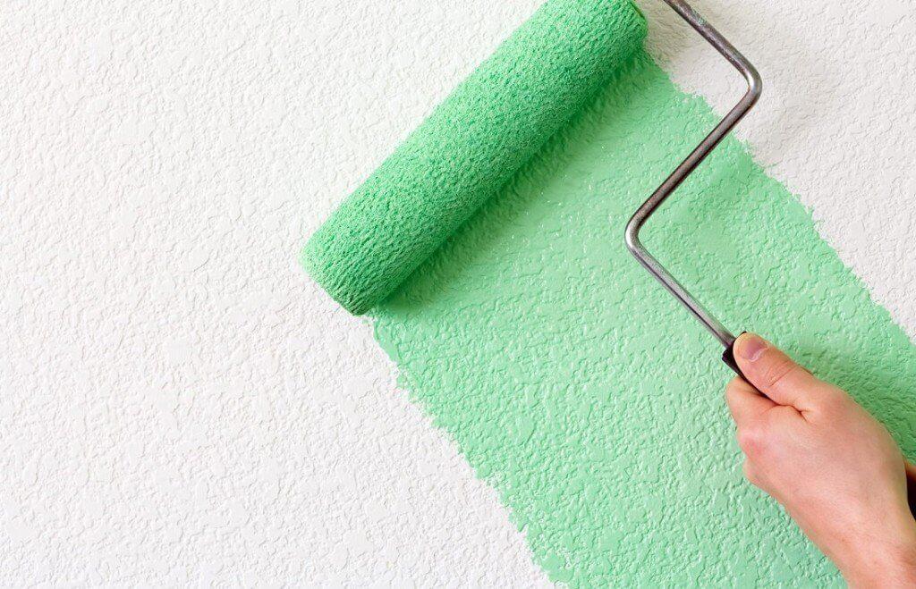 Фактурная краска – плюсы, виды и нанесение